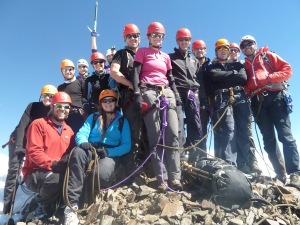 The Patapatami team on the summit
